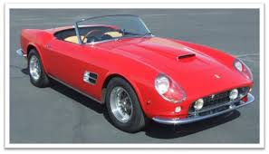 types of ferraris pebble concours to honor 250 gt california