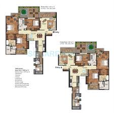 2500 Sq Ft Floor Plans by Prateek Edifice In Sector 107 Noida Project Overview Unit