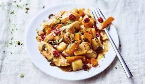 plat d automne cuisine poulet rôti légumes d automne sauce au sirop d érable surgelés