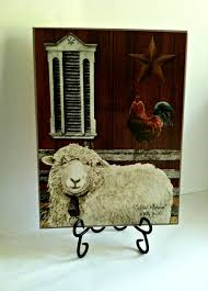 Welcome Home Decor Billy Jacobs Good Morning Sheeps And Roosters Kitchen Decor