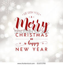 merry happy new year greeting stock vector 511672795