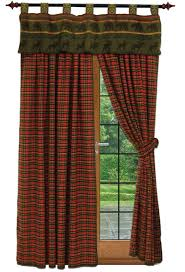 Cabin Valances Drapes And Valances In Southwestern Western And Cabin Lodge Designs