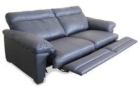 federkern sofa editions leder 2er sofa u074 grau mit federkern sofas zum