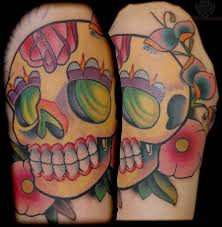72 best sugar skull tattoo images on pinterest childhood