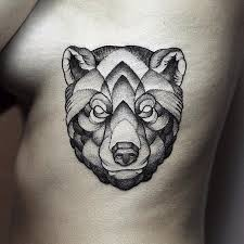 130 cute bear tattoos and meanings 2017 collection face