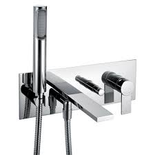 Bathroom Taps With Shower Attachment Bath Fillers Floor And Wall Mounted Livinghouse