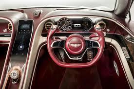 bentley cars interior bentley exp 12 speed 6e electric vehicle concept myautoworld com