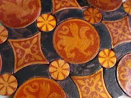 fresque carrelage mural décor céramique céramiques du beaujolais faïences et terre