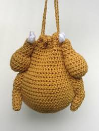 ravelry thanksgiving turkey purse pattern by payne