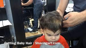 how to cut baby u0027s hair baby u0027s first haircut youtube
