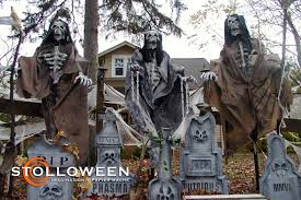 homemade halloween yard props home decor loversiq