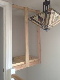 build a linen closet over the stairs handmaidtales