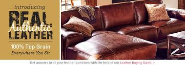 All Leather Sofas Real Authentic Leather Furniture American Signature Furniture