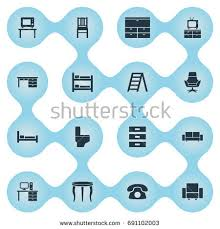 Comfortability Synonyms Furniture Repair Icon Stock Vector 387500950 Shutterstock