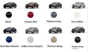 black volkswagen passat 2017 2017 volkswagen passat interior and exterior color options