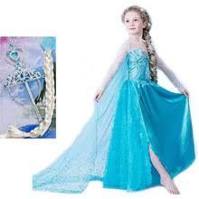 Elsa Halloween Costume Girls Cheap Elsa Costume Aliexpress Alibaba Group