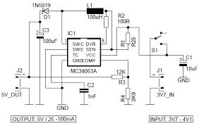 5v power bank with 3 7v li ion battery