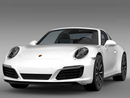 porsche targa 2016 porsche 911 targa 4s 991 2016 3d model vehicles 3d models 3d 3ds