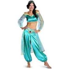 jasmine aladdin harem genie fancy dress halloween