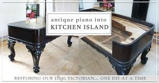 diy repurposed antique kitchen island part 3