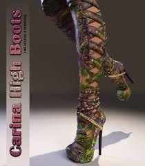s high boots high boots genesis 3 s 3d figure assets