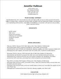 resume samples professional summary free bartender resume templates gfyork com