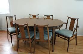 vintage mid century dining room chairs modern table and uk teak