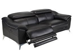 sofa relaxfunktion elektrisch relaxsofa leder 3 sitzer elektrisch daloa schwarz