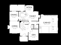 Mission Style House Plans Mascord House Plan 22130 The Sorel