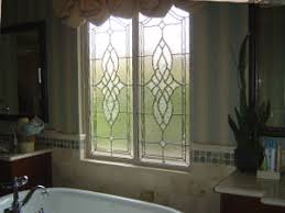 Etched Shower Doors The Beveled Edge Bathroom And Shower Door Glass