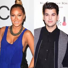 adrienne bailon made up fake boyfriend to stop rob kardashian from