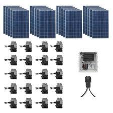 home depot solar grape solar 5 300 watt expandable poly crystalline pv grid