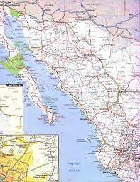 map of mexico and california map of mexico baja california cancun cabo san lucas within the