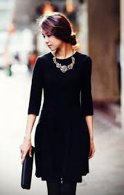 black necklace dress images Mama de la mode those girls with perfect hair hair jpg