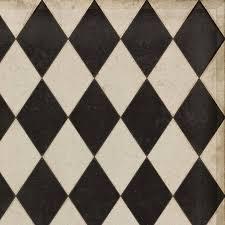 diamonds edward vinyl floor cloths choose size piper classics