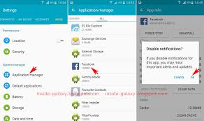 application manager android samsung galaxy s4 how to block application notifications in
