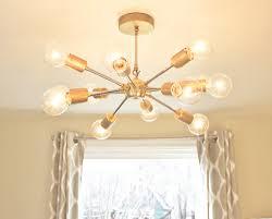 sputnik chandelier free shipping new the juno modern brass sputnik chandelier
