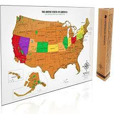 us map capitals map of united states amazon com