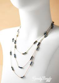 Beaded Jewelry Making - how to use silk cord in jewelry making goodybeads blog