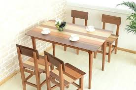 dining room table legs 4 seater wooden dining table modern long 4 dining table legs solid