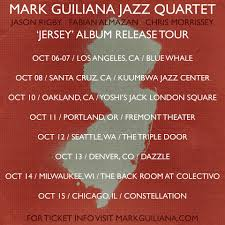guiliana s mark guiliana the new jazz quartet album jersey comes