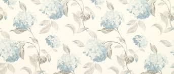 hydrangea duck egg floral wallpaper laura ashley