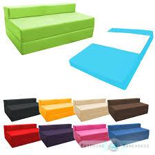 Folding Foam Chair Bed Tri Fold Futon Couch Tri Fold Futon Sofa Bed Foldable Memory Foam