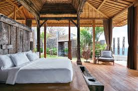 Natural Home Decor Private Village House Applying Exotic Modern Interior Home