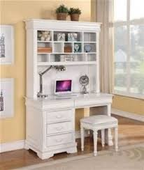 kids white desk with hutch hollywood thing