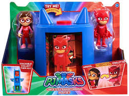 disney junior pj masks owlette transforming playset play toywiz