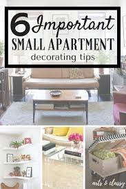 6 important small apartment decorating tips arts and classy