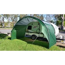 Trailer Awning Pahaque R Pod Trailer Awning Silver Green Pahaque Custom Inc
