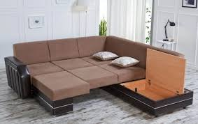 sectional sofa bed with storage furniture lovely brown sectional sofa bed matched with attractive