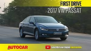 volkswagen passat 2017 2017 volkswagen passat video review autocar india